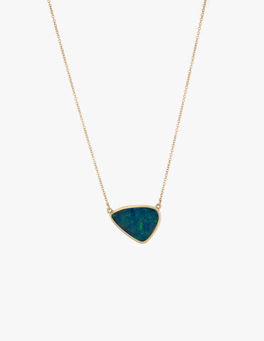 Blue Opal Pendent