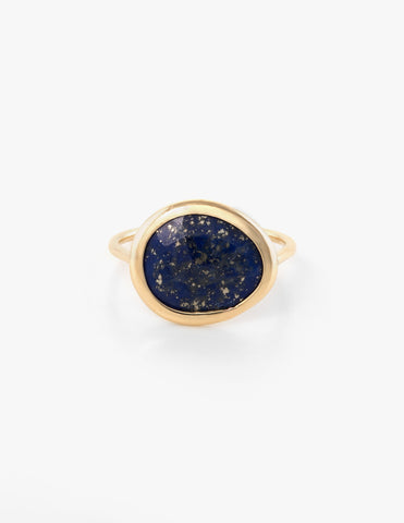 Lapis Slice Ring - Dream Collective