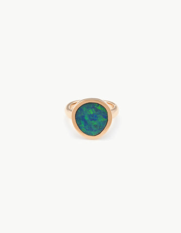 Opal Organic Amulet Ring - Dream Collective