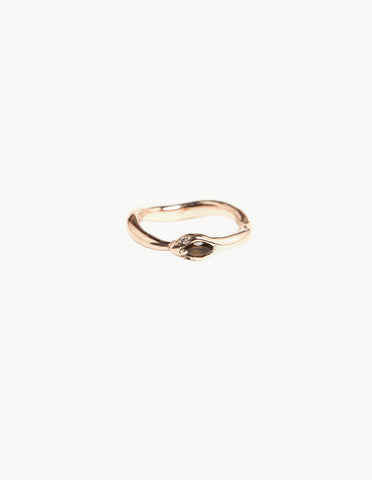 Topaz Eternity Snake Ring - Dream Collective