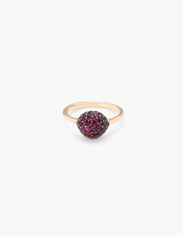 Ruby River Rock Ring