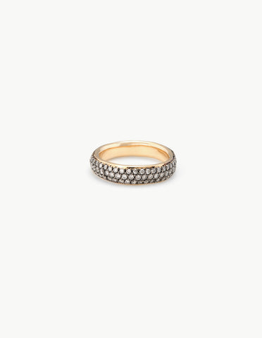 Three Row Diamond Ring - Dream Collective