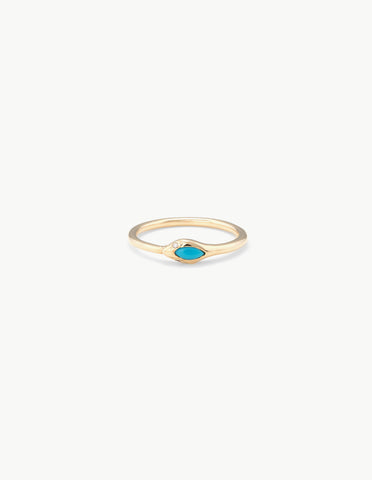 Turquoise Ouroboros Ring - Dream Collective