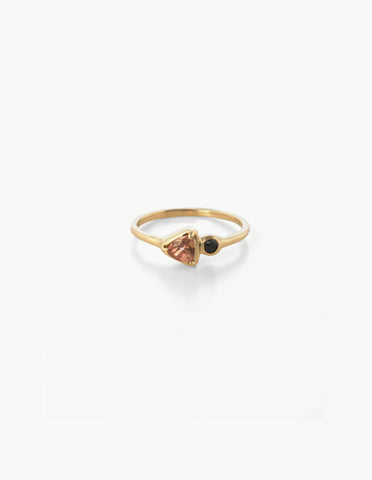Tiny Double Cluster Ring
