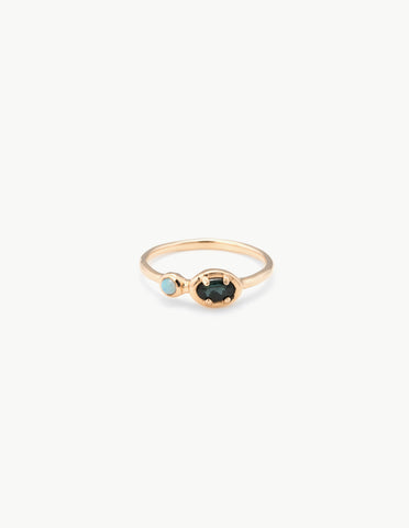 Ellipse Dot Ring