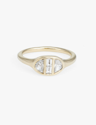 Deco Engagement Ring