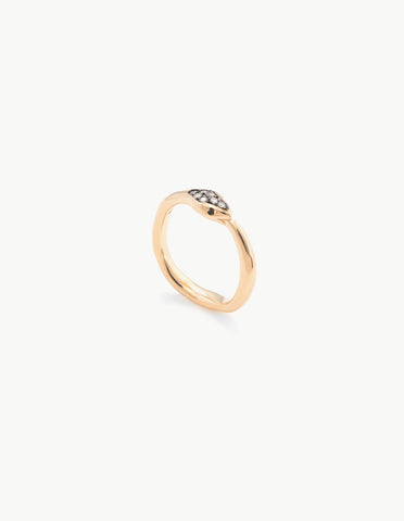Diamond Eternity Snake Ring - Dream Collective