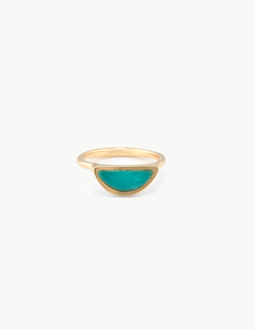 Turquoise Moonrise Ring - Dream Collective