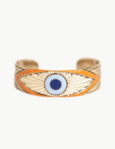 Evil Eye Cuff - Dream Collective