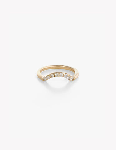 Diamond Arched Band