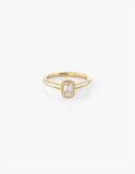 Small Diamond Baguette Ring