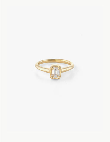 Small Diamond Baguette Ring - Dream Collective