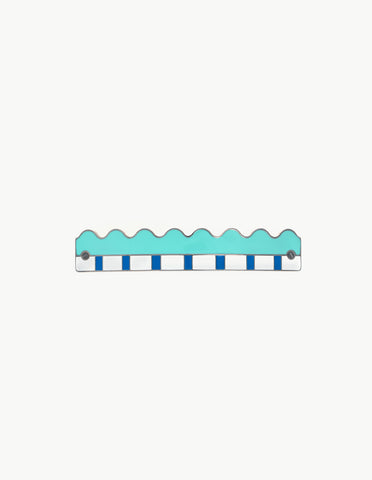 Turquoise Piano Barrette - Dream Collective