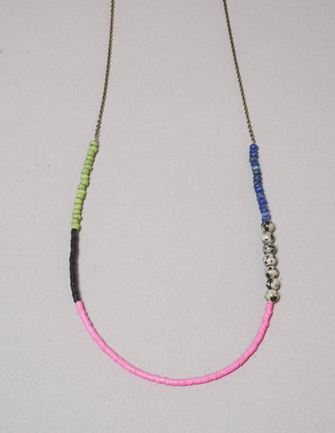 Record Bead Necklace