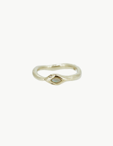 Eternity Opal Snake Ring - Dream Collective