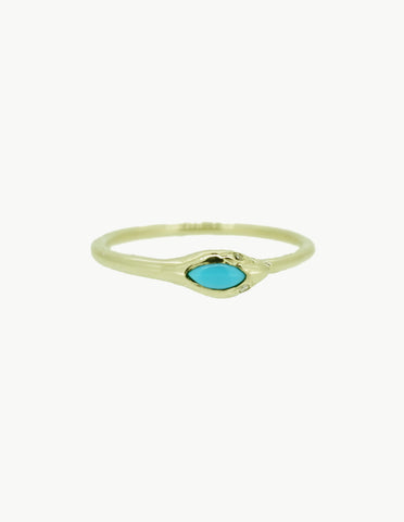 Eternity Snake Ring - Turquoise - Dream Collective