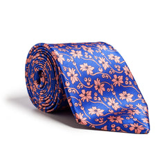 Dolcepunta / Blue and Orange Floral Print / Q Clothier