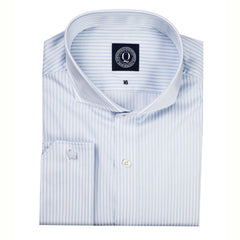 Q Clothier / The Chester - Blue Double Stripe / Q Clothier