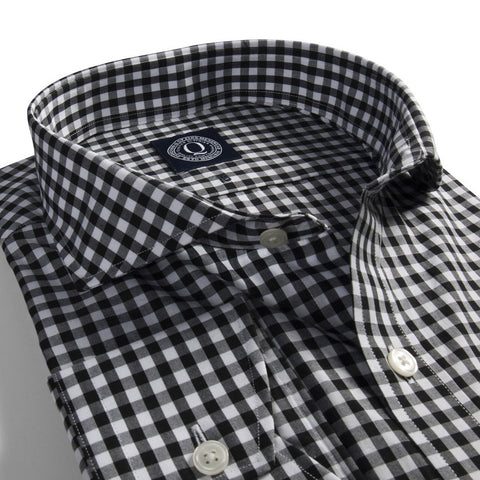 The Samuel - Black & White Gingham