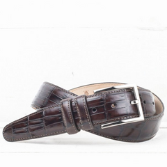 Martin Dingman / Alexander Belt - Walnut / Q Clothier