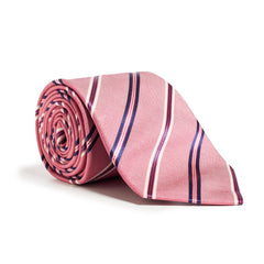 Dark Pink and Navy Stripe