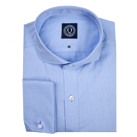 Q Clothier / The Chester - Blue Diamond Dobby / Q Clothier