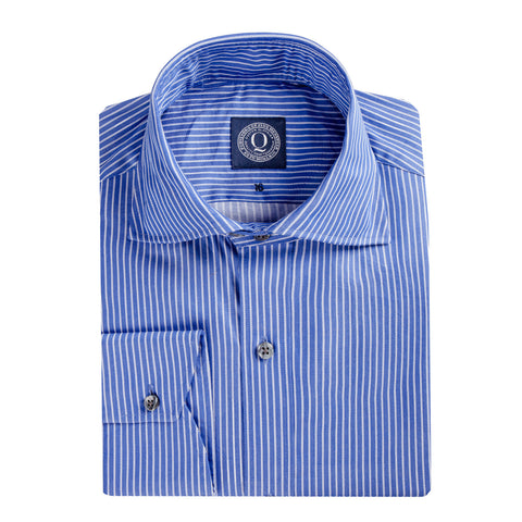 Q Clothier / The Beck - Royal Double Stripe / Q Clothier
