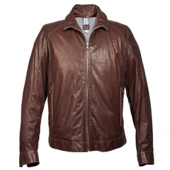 Gimos / Gimo's Agnello Nappa Jacket Brown / Q Clothier