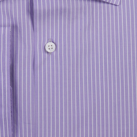 Purple with White Stripes