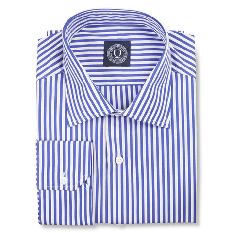Cobalt & White Stripes