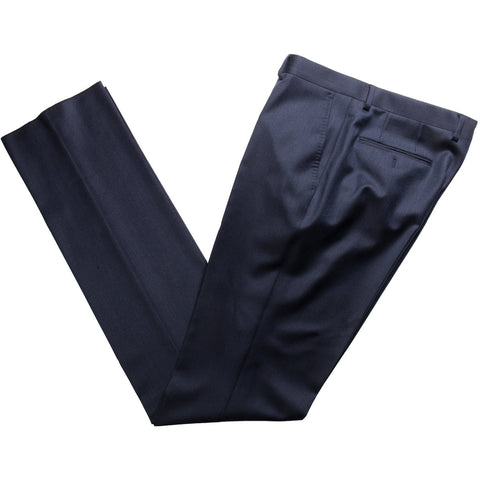 The Matteo - Solid Navy Trousers