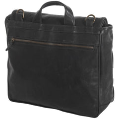 Moore & Giles / Moore and Giles Wynn Mail Bag - Black / Q Clothier