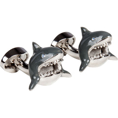 Great Whites - Shark Cufflinks