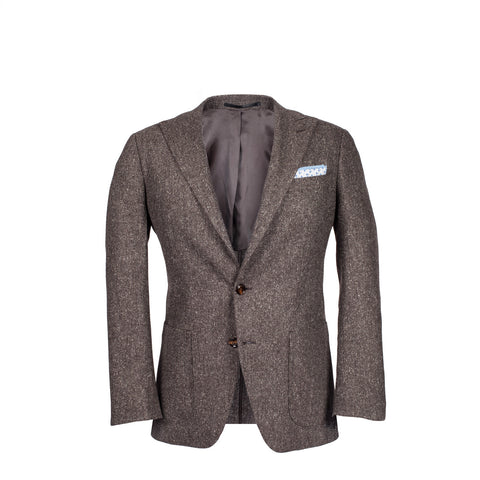 The Arnold - Lightweight Brown Tweed
