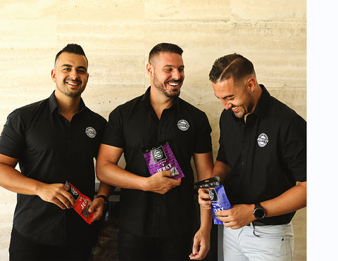 The Jerky Co was created by 3 best friends