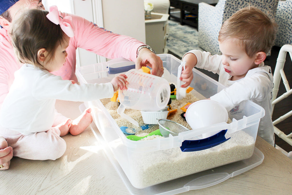 Indoor Toddler Activity Table