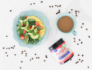 Neocell Super Collagen // Avocado Omelet Recipe