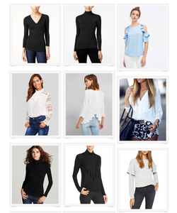 Sweaters and Tops: The Look for Less