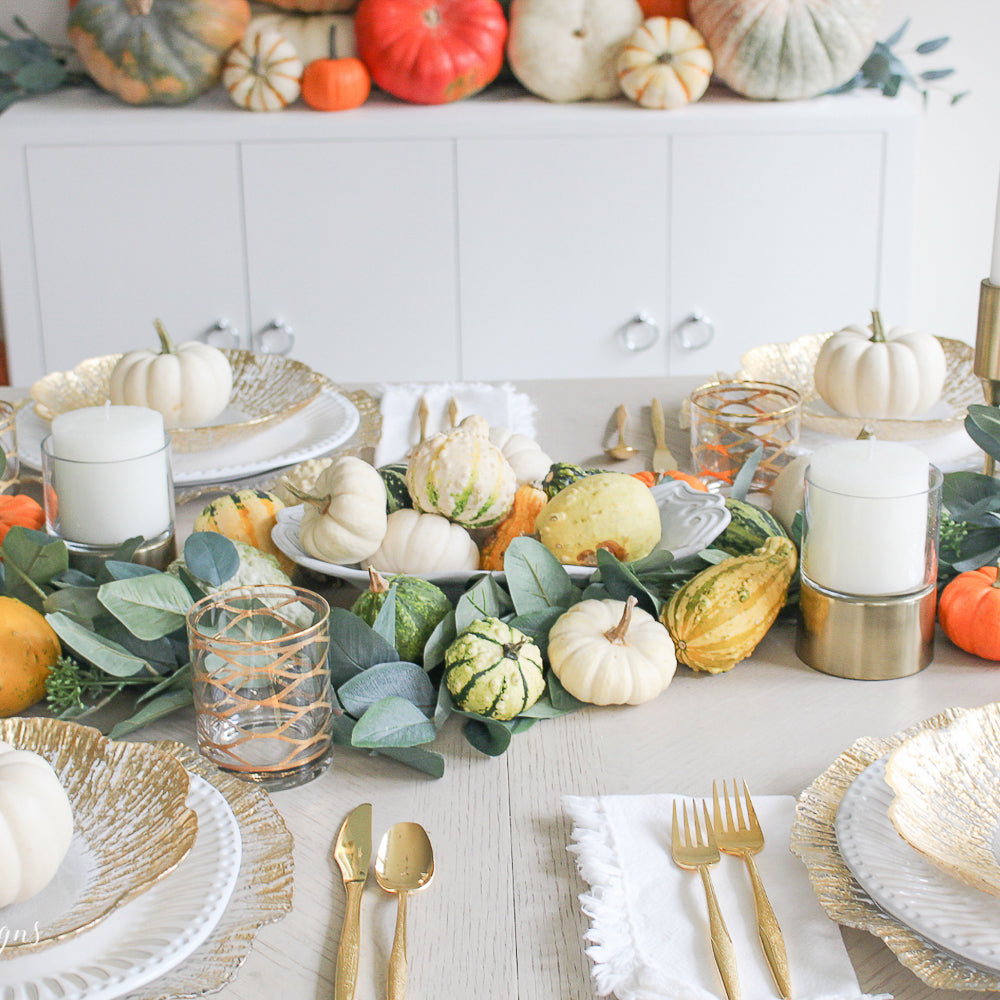 My Fall Table with Vietri