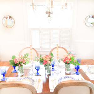 Spring Dinner Party in the Old House