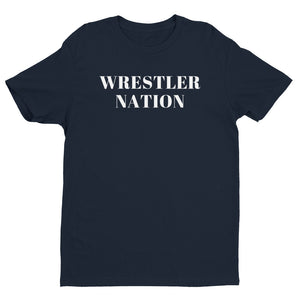 Men's Short Sleeve Wrestler Nation T-shirt