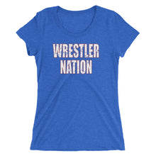 Load image into Gallery viewer, Women's/Ladies' Wrestler Nation Short Sleeve T-shirt