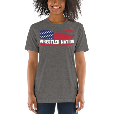 Women's Wrestler Nation Short Sleeve T-shirt