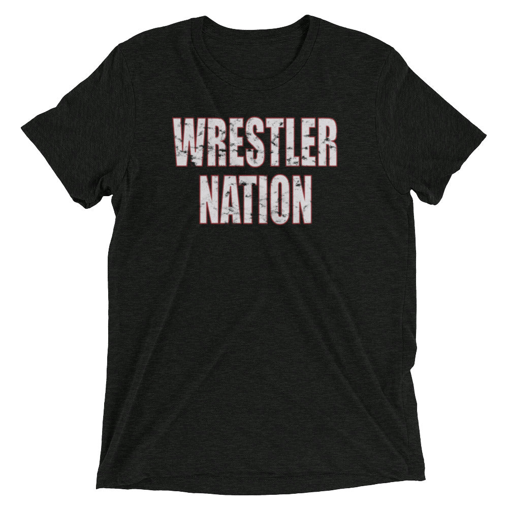 Men's Wrestler Nation Short Sleeve T-shirt