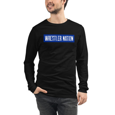 Long Sleeve Wrestler Nation Tee