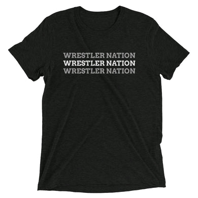 3X-er Wrestler Nation Short Sleeve T-Shirt