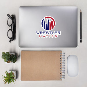 Wrestler Nation Bubble-Free Stickers