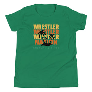 Tropical Youth Wrestling T-Shirt