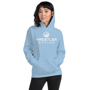 Unisex Wrestler Nation Hoodie--Small Logo