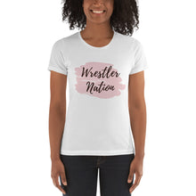 Load image into Gallery viewer, Women's Wrestle Nation t-shirt